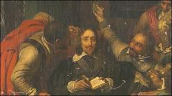 Charles i insulted by cromwell s soldiers