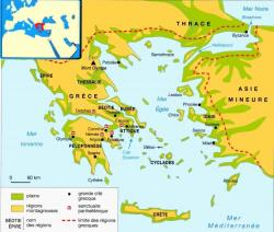 Monde des cités grecques
